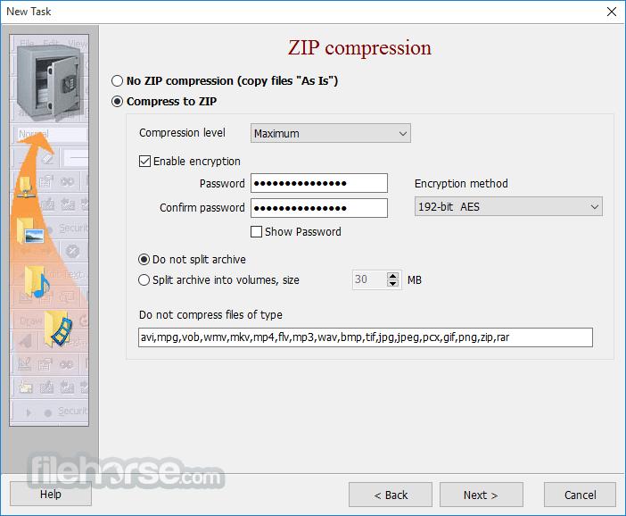 Exiland Backup Pro 6.0 Screenshot 4