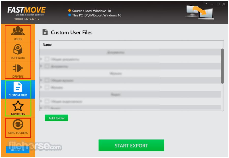 FastMove 1.2020.1224.33 Screenshot 1