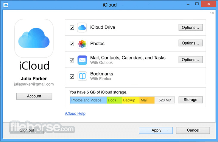 iCloud Control Panel Download (2019 Latest) for Windows 10, 8, 7