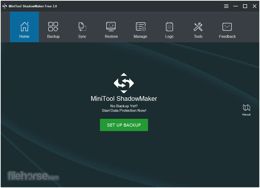 MiniTool ShadowMaker 3.6 Captura de Pantalla 1