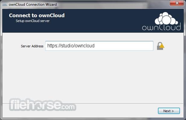 ownCloud 2.6.3 Captura de Pantalla 1