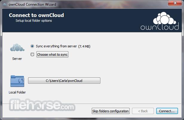 ownCloud 2.6.3 Captura de Pantalla 4