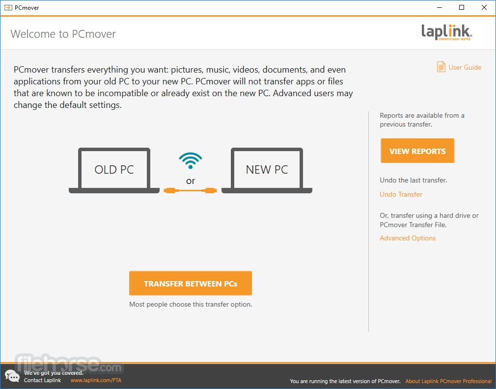 PCmover Professional 11.3.1015.1224 Screenshot 1