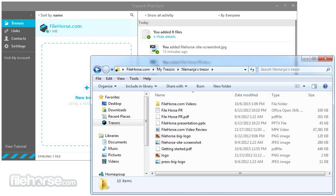 Tresorit 3.1.1351.751 Screenshot 3