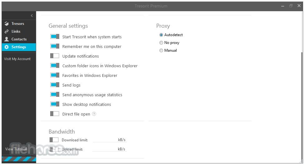 Tresorit 3.1.1351.751 Screenshot 5