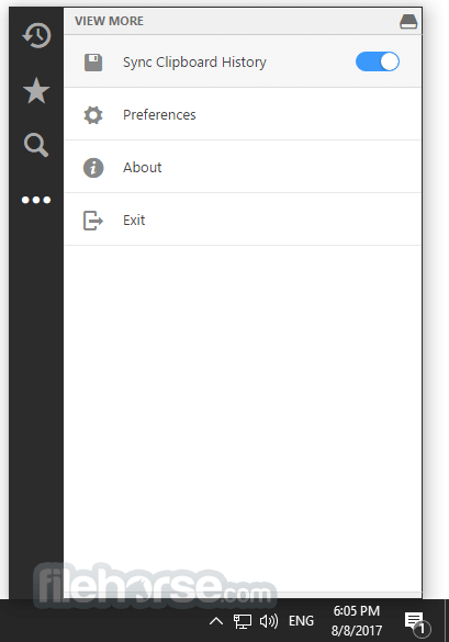 1Clipboard 0.1.8 Screenshot 2