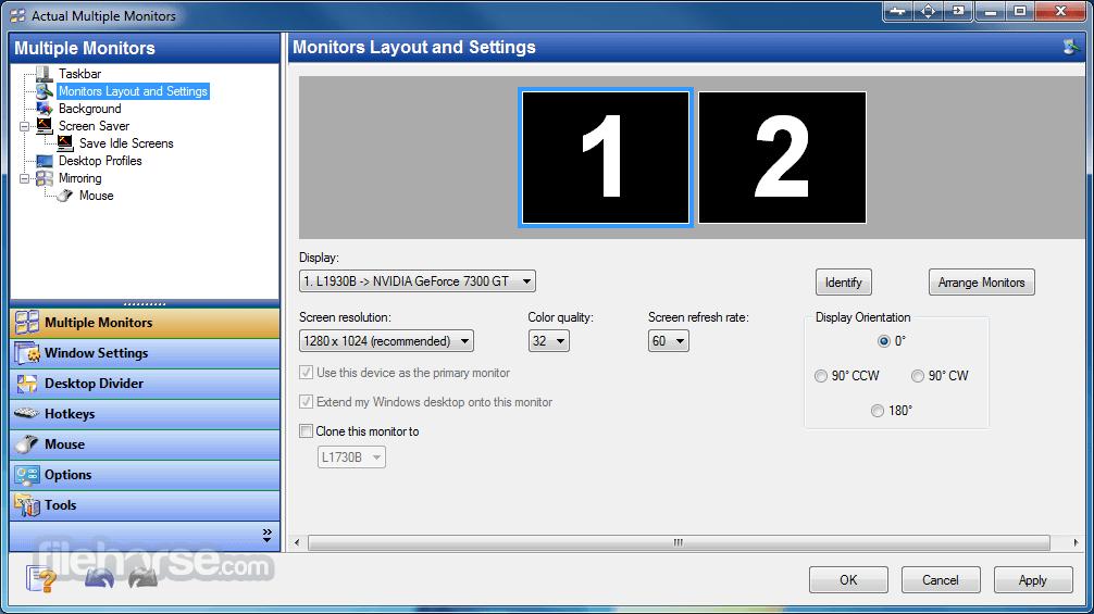 Actual Multiple Monitors 8.14.3 Screenshot 1