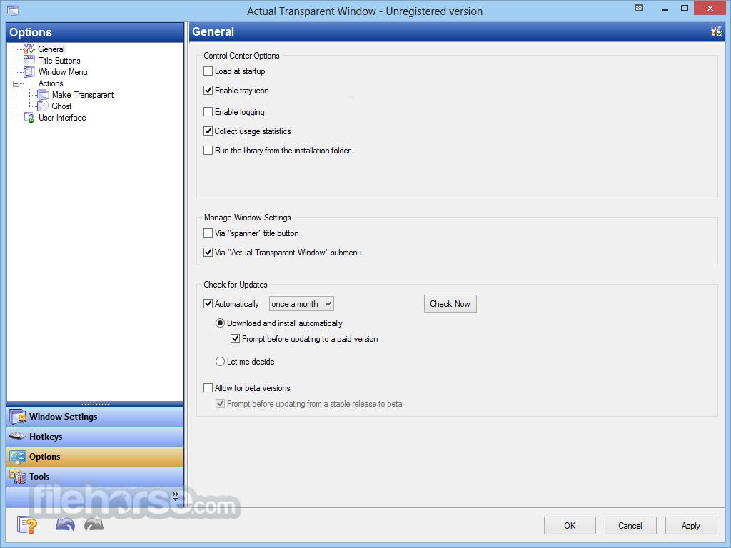 Actual Transparent Window 8.11.2 Screenshot 3
