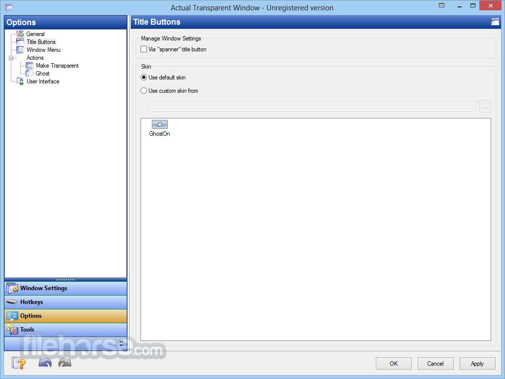 Actual Transparent Window 8.11.2 Screenshot 4