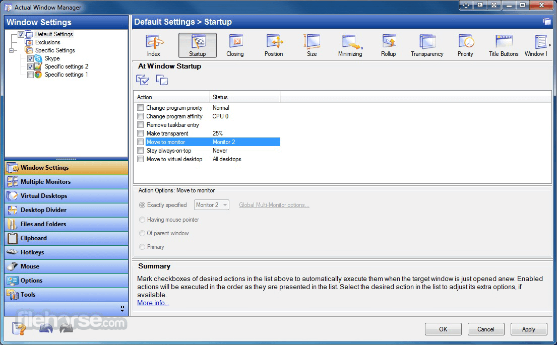 Actual Window Manager 8.14.3 Screenshot 2