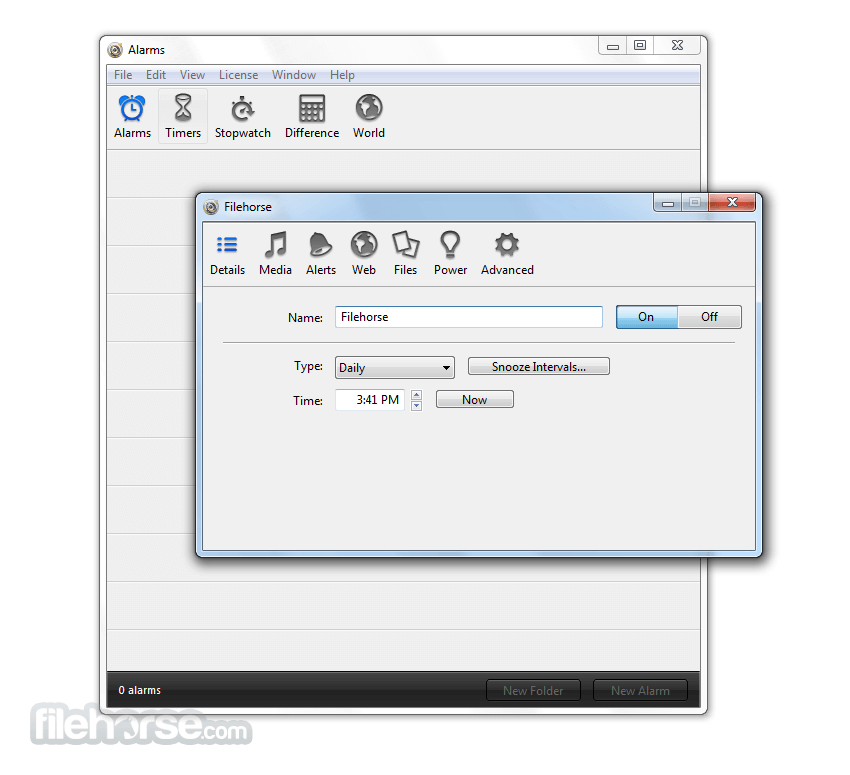 Download  Alarm Clock Pro for Windows free 2021