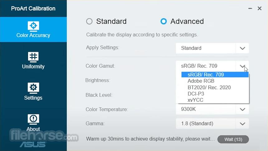 ASUS ProArt Calibration 1.14.06 Screenshot 2