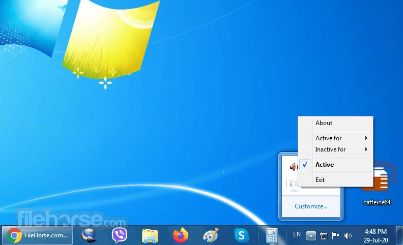 Download  Caffeine for Windows free 2021