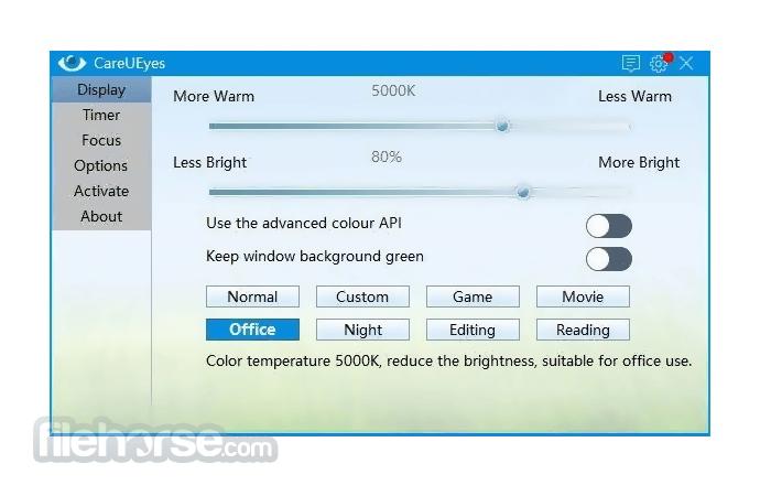 CareUEyes 2.0.0.3 Screenshot 1