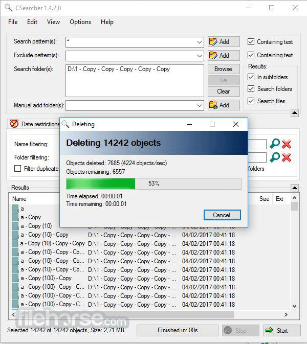 CSearcher 1.5.5.0 Screenshot 2