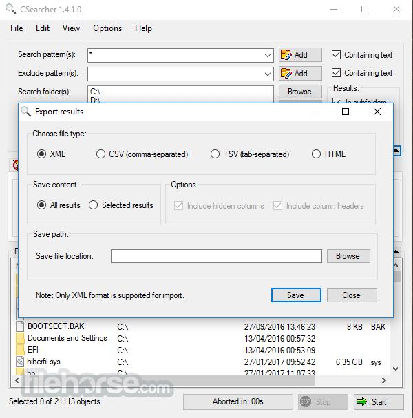 CSearcher 1.5.5.0 Screenshot 4