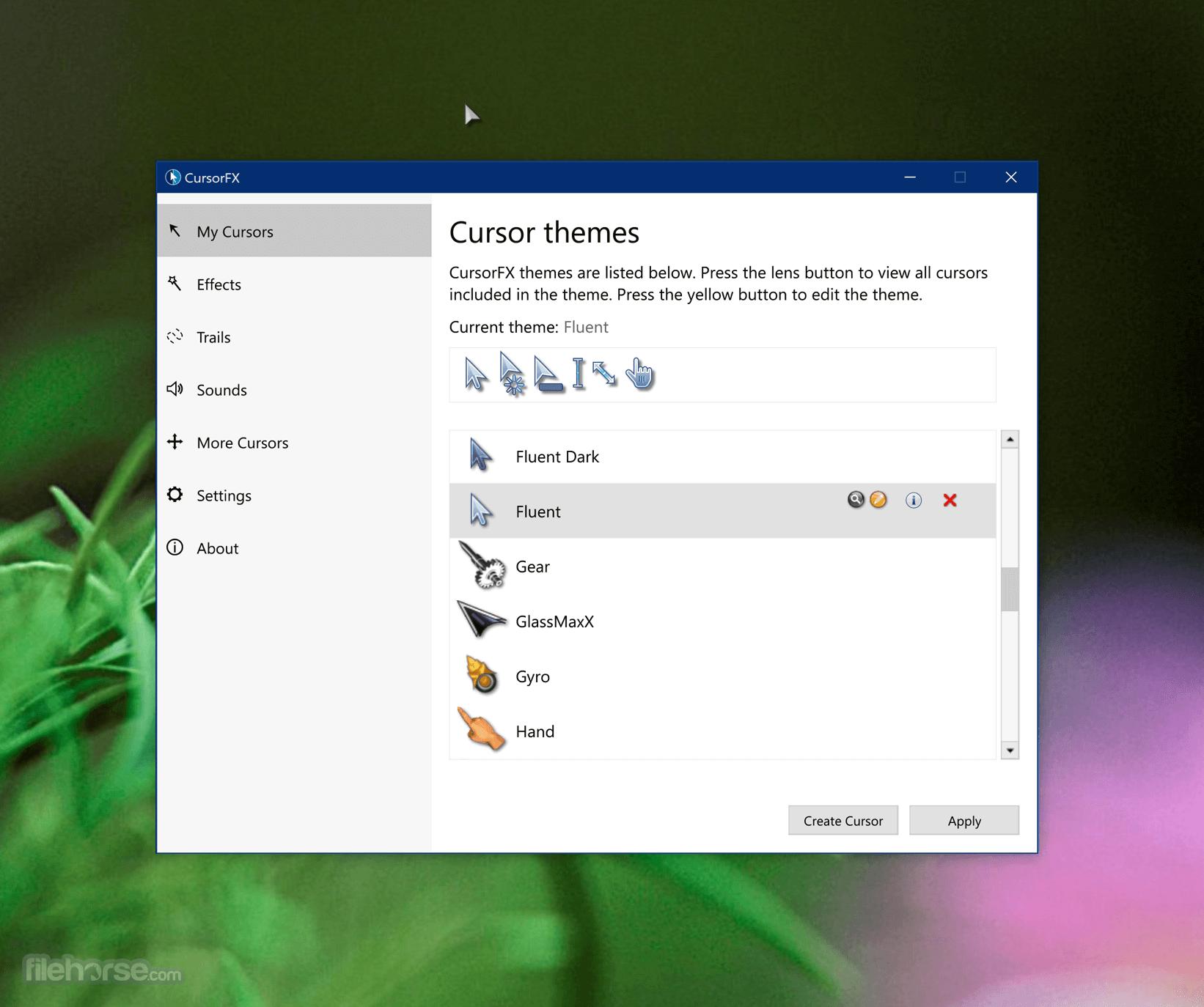 CursorFX 2.16 Screenshot 1