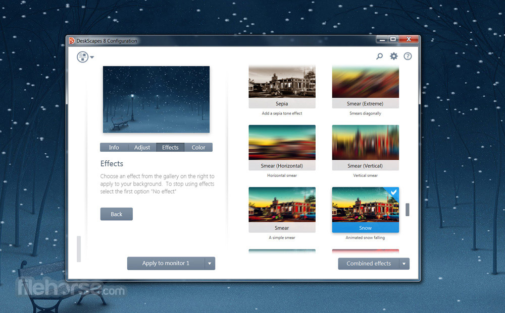 DeskScapes 8.51 Screenshot 1
