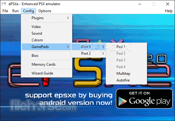 psx emulator download completo com bios