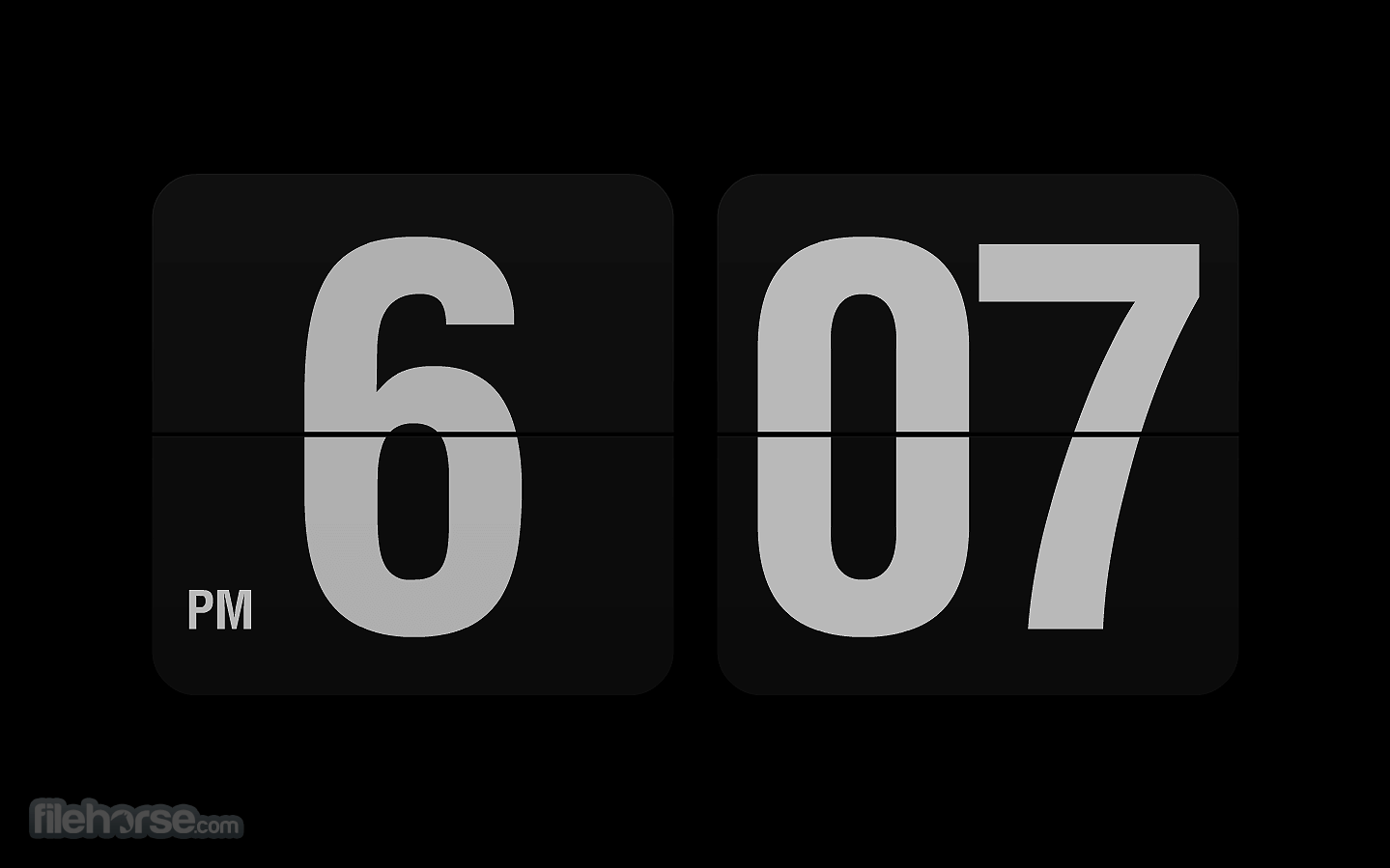Fliqlo Flip Clock Download 2021 Latest For Windows 10 8 7
