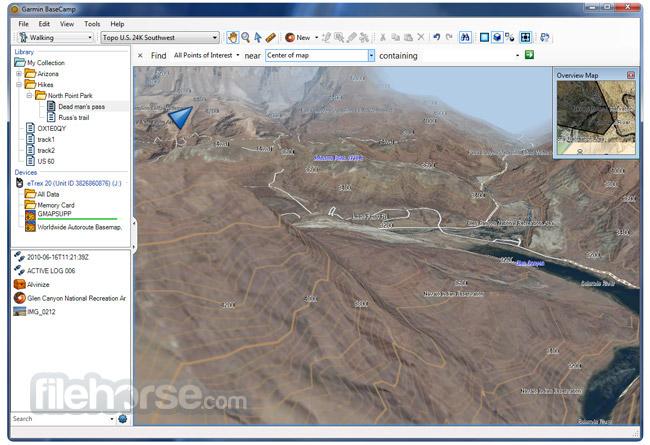 Garmin BaseCamp 4.7.2 Screenshot 2