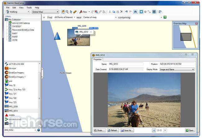 Garmin BaseCamp 4.7.2 Screenshot 4