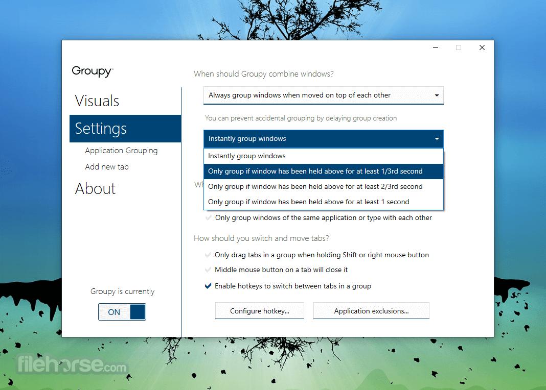 Groupy 1.50 Screenshot 4