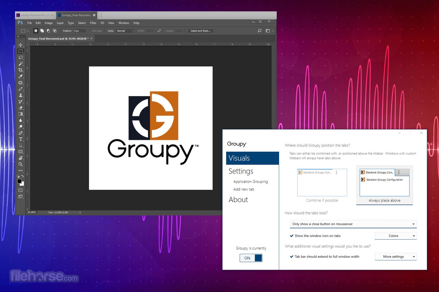 Groupy 1.50 Screenshot 5