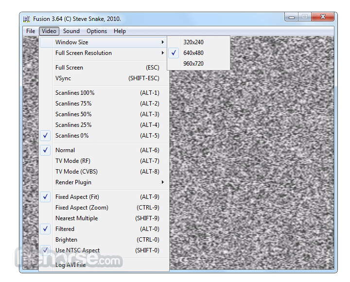 Kega Fusion 3.64 Screenshot 2