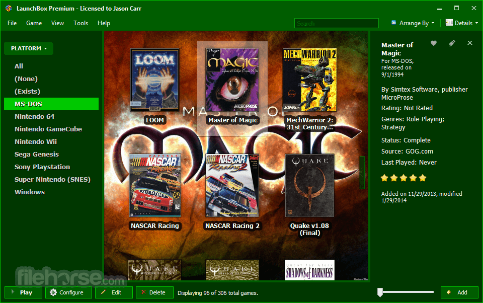 LaunchBox Download (2019 Latest) for Windows 10, 8, 7