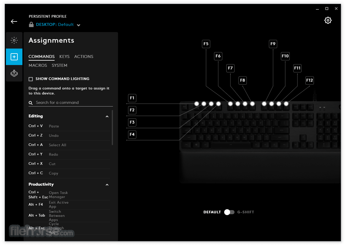 Logitech G HUB 2020.11.9270 Screenshot 5