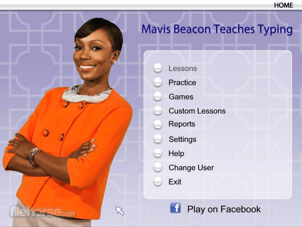 Mavis Beacon Teaches Typing 1.0 Screenshot 1