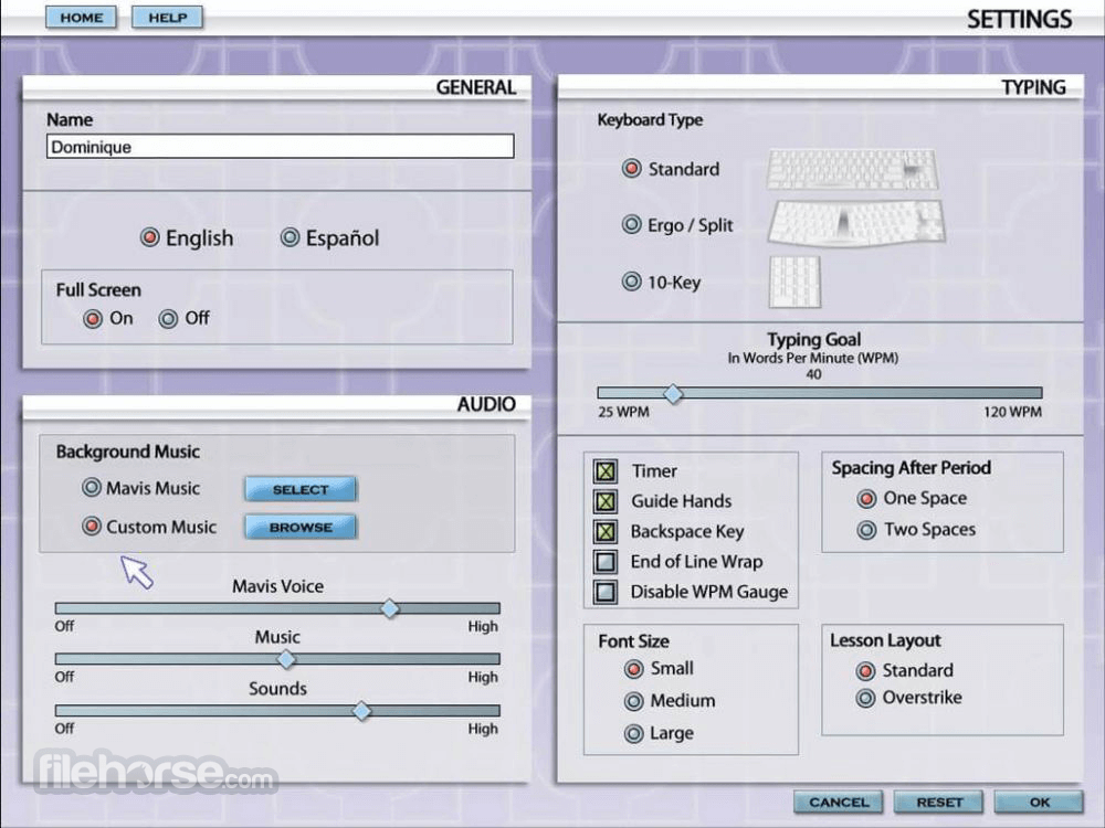 Mavis Beacon Teaches Typing 1.0 Screenshot 3