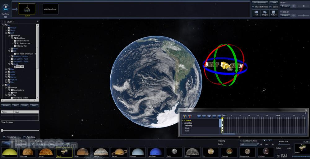 Microsoft WorldWide Telescope 5.5.03 Captura de Pantalla 1