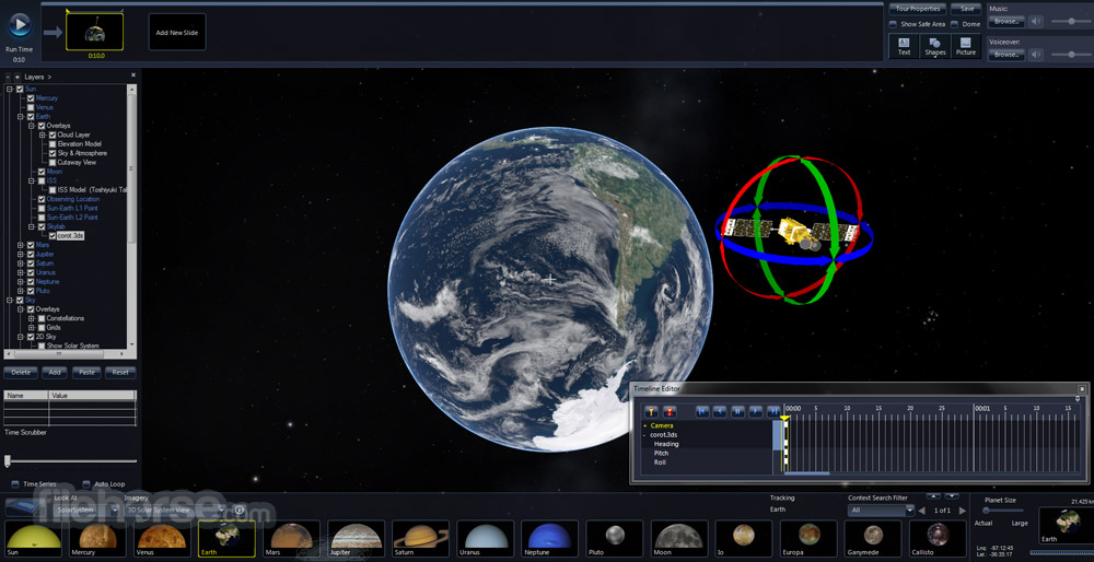 Microsoft WorldWide Telescope 5.5.03 Screenshot 1