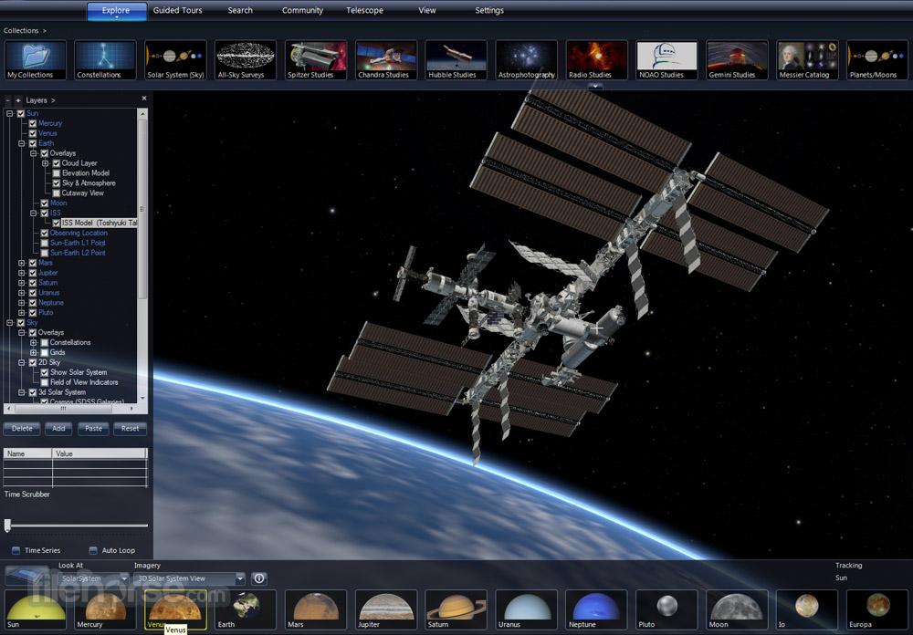 Microsoft WorldWide Telescope 5.5.03 Captura de Pantalla 2