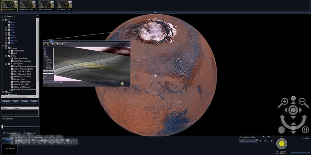Microsoft WorldWide Telescope 5.5.03 Captura de Pantalla 3