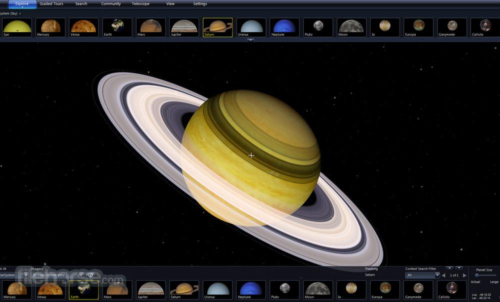 Microsoft WorldWide Telescope 5.5.03 Captura de Pantalla 5