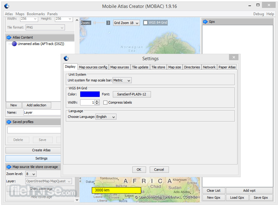 Mobile Atlas Creator 2.0.1 Screenshot 3