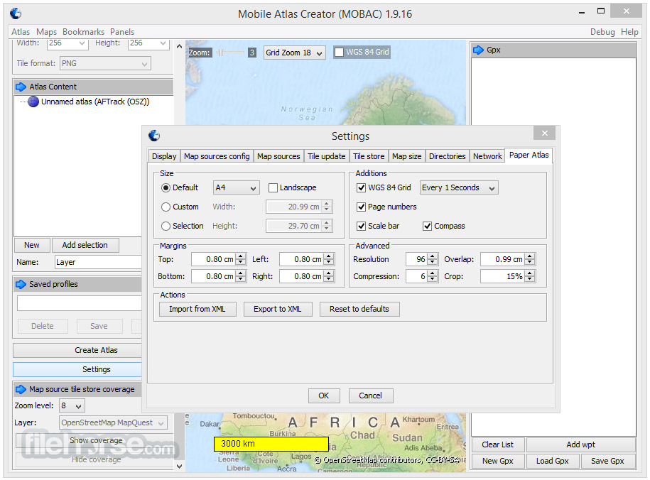 Mobile Atlas Creator 2.1.1 Screenshot 5