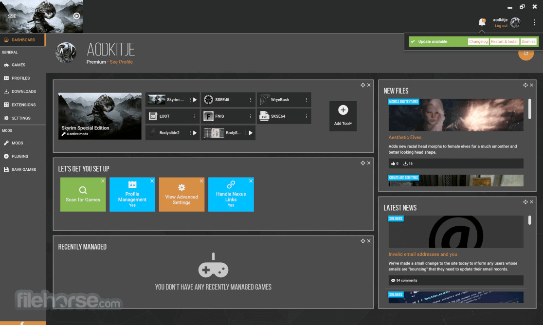 Nexus Mod Manager 0.72.3 Screenshot 1