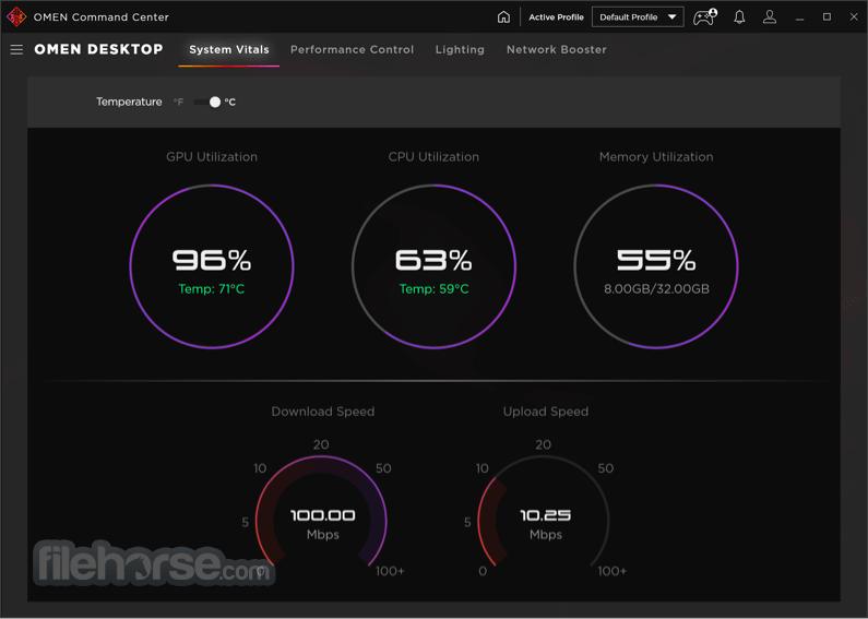 OMEN Command Center 10.0.20 Screenshot 2