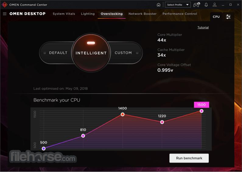 OMEN Command Center 10.0.20 Screenshot 3
