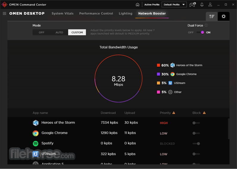 OMEN Command Center 10.0.20 Screenshot 4