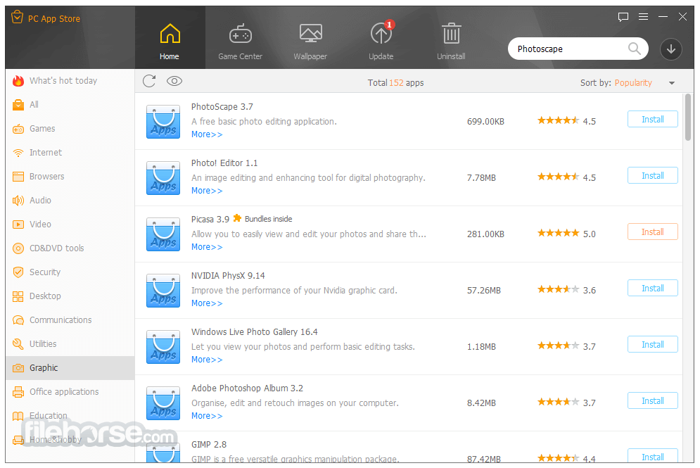 PC App Store 5.0.1.8682 Screenshot 4