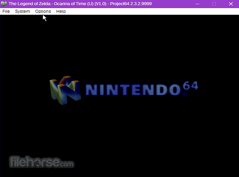 Project64 2.3.2 Screenshot 2