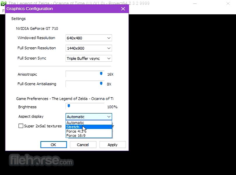 Project64 2.2 Screenshot 3
