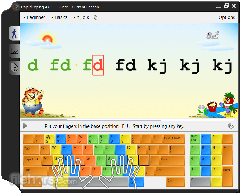 RapidTyping 5.2 Screenshot 2