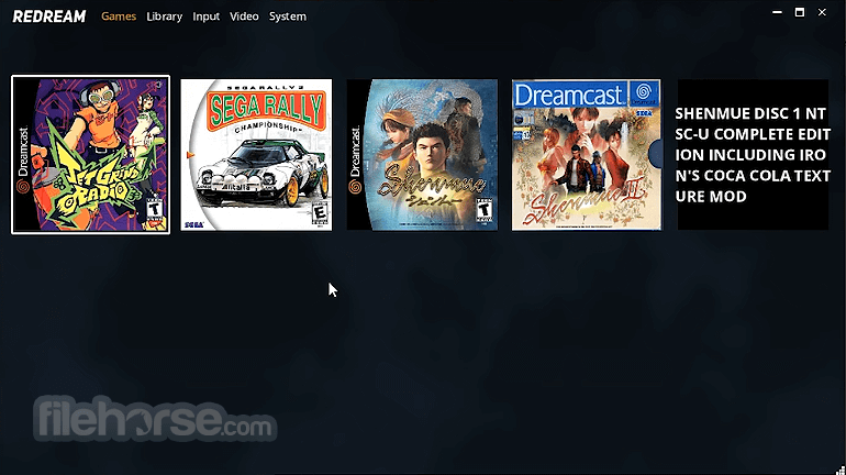 Redream Dreamcast Emulator 1.5.0 Screenshot 1