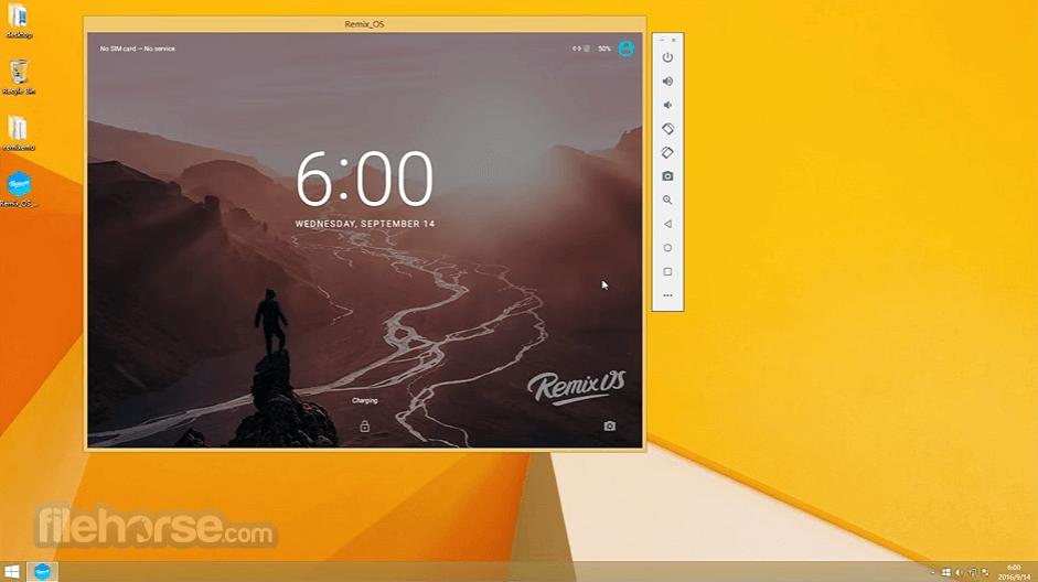 Remix OS Player 1.0.110 Captura de Pantalla 2